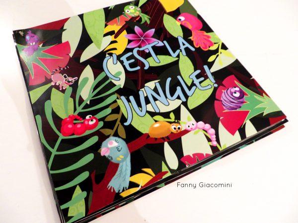Livre papier decoupé animaux de la jungle lyon illustratrice