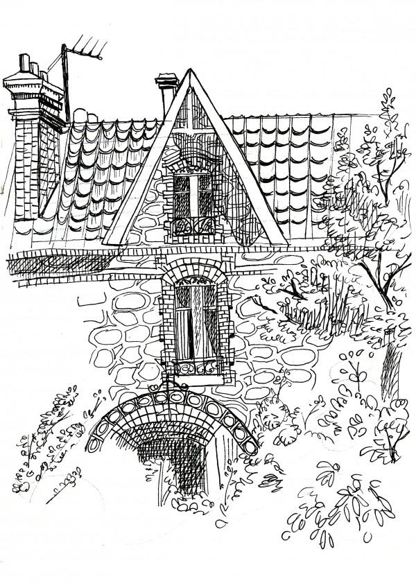 maison Sannois croquis
