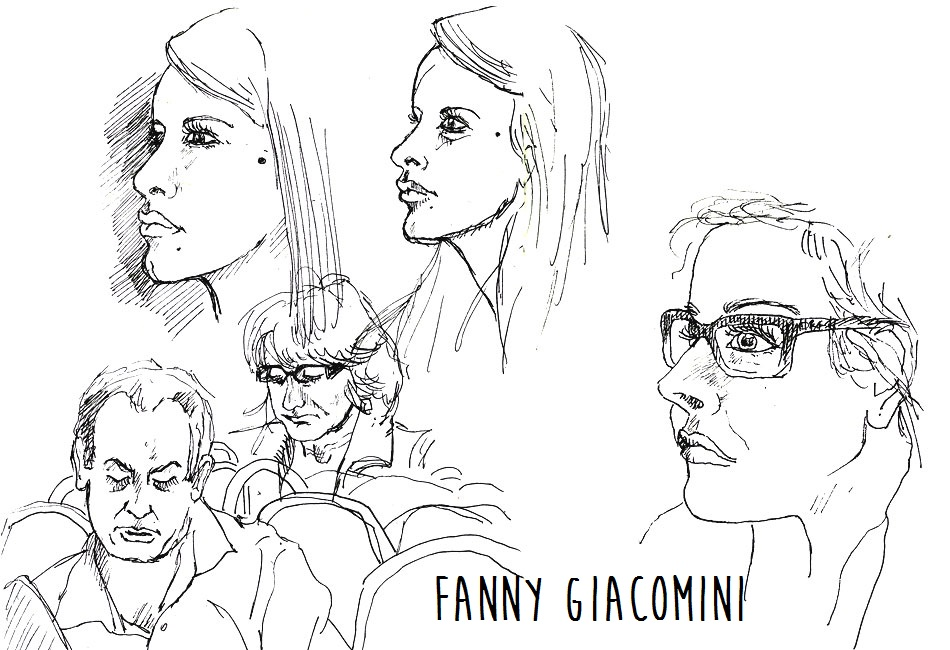 croquis train portraits
