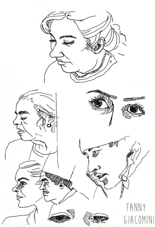 série portraits télévision