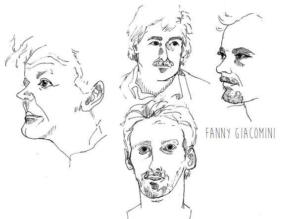 portraits dessins noir et blanc