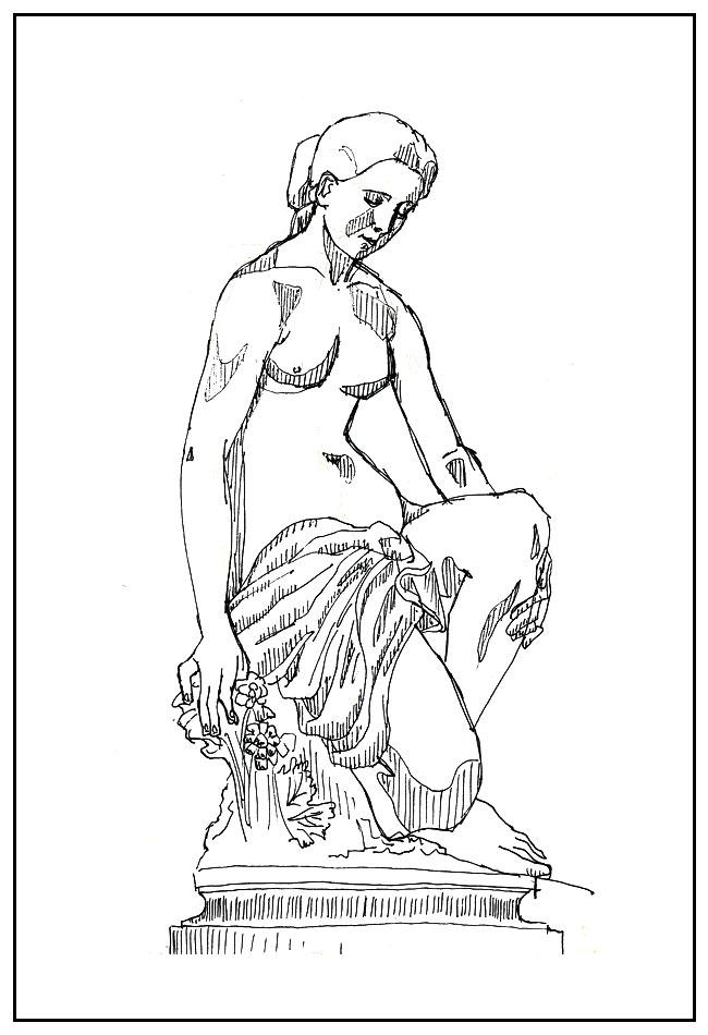 croquis sculpture musée beaux-arts lyon