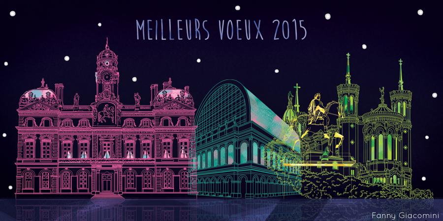 Concours carte de voeux Lyon