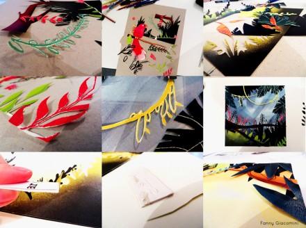 Concours Bologne 2014 – Découpage et collage