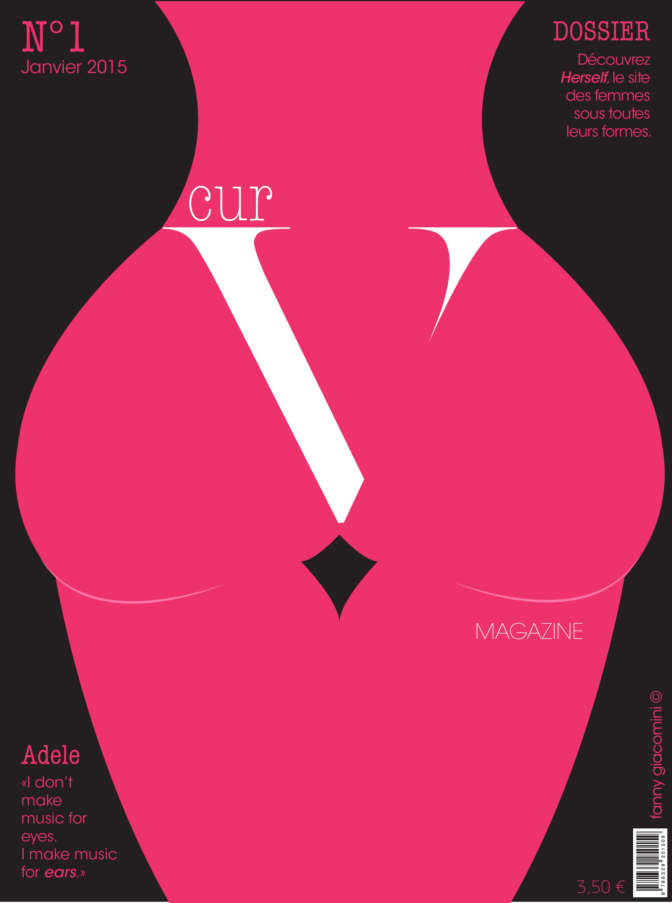 Couverture d'un magazine: CurV