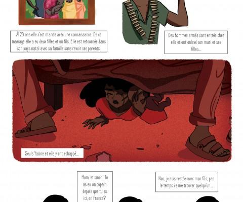 illustratrice lyon fanny giacomini projet mémoire chibanis