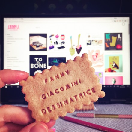 Biscuits Fanny Giacomini, dessinatrice