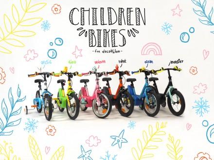 Vélos designés pour BTWIN (DECATHLON)