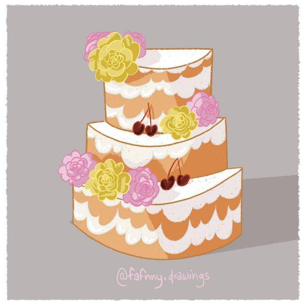 naked cake, illustration, illustratrice, lille, freelance, artiste, dessin, dessinateur, dessinatrice
