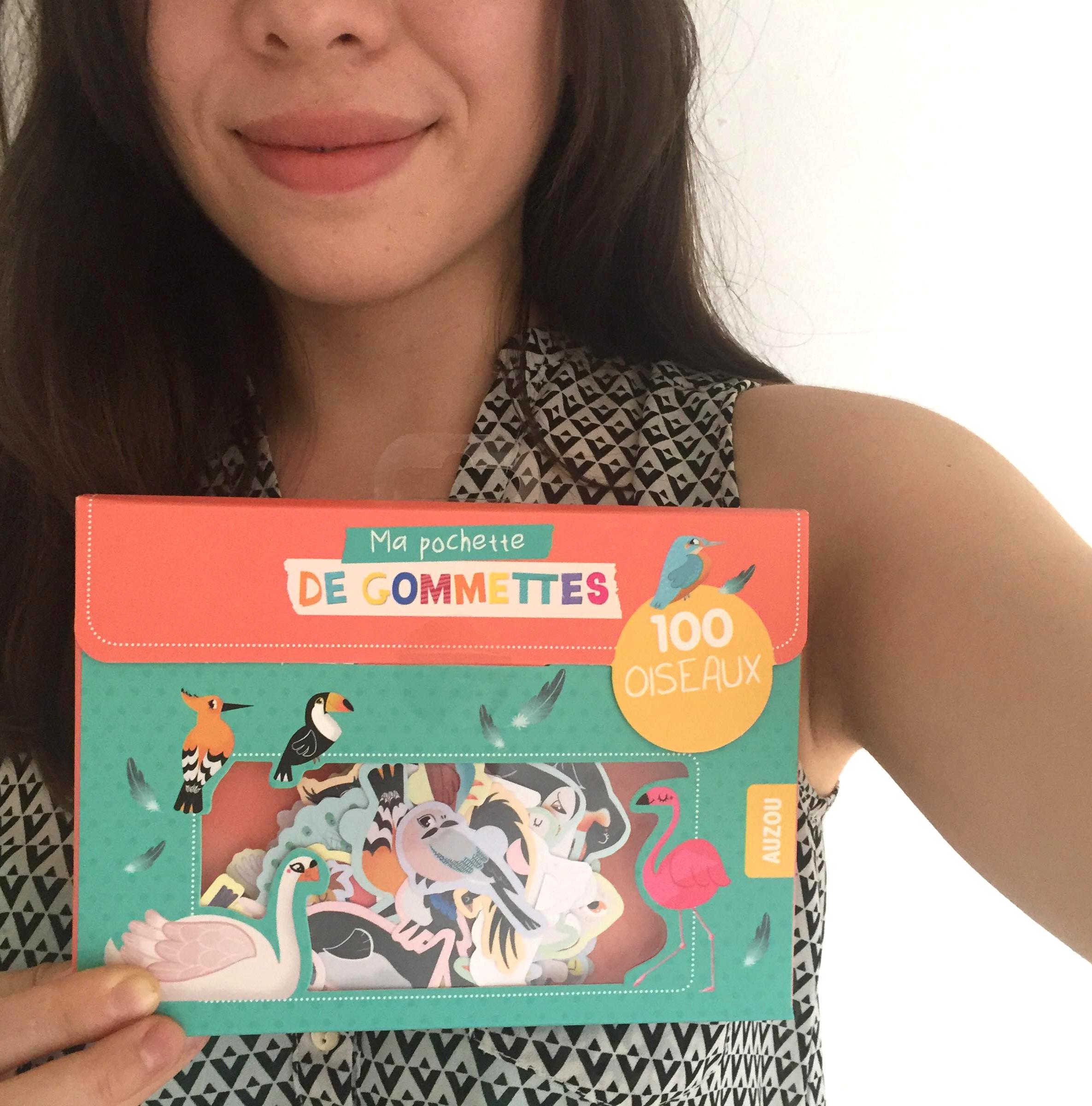 Pochette gommettes pour enfants – Editions AUZOU