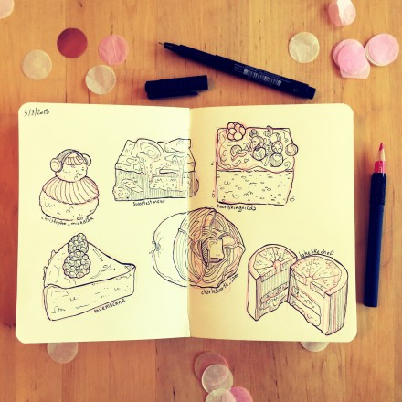 «Food Evening !» – croquis traditionnels