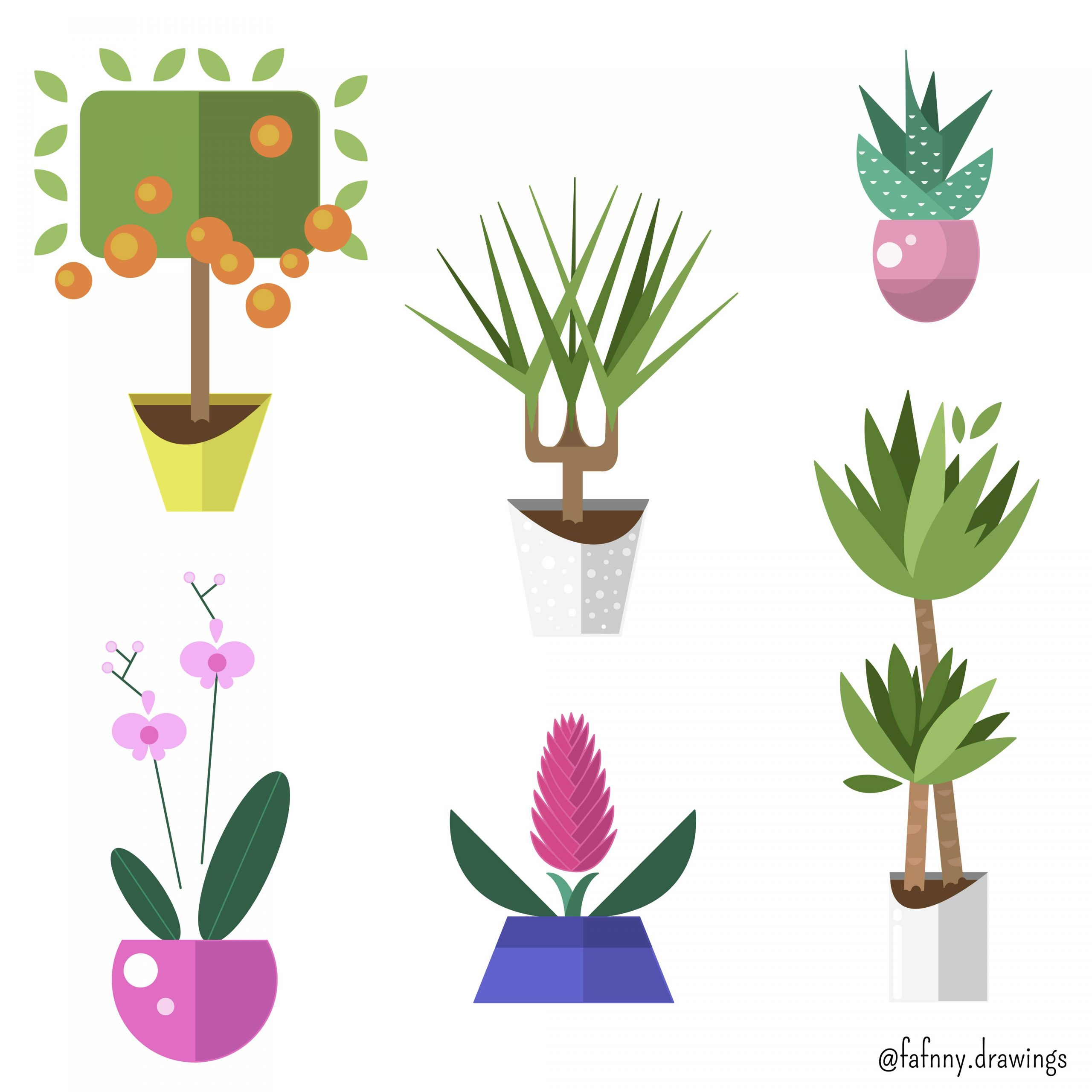 Plantes vertes (vectoriel)