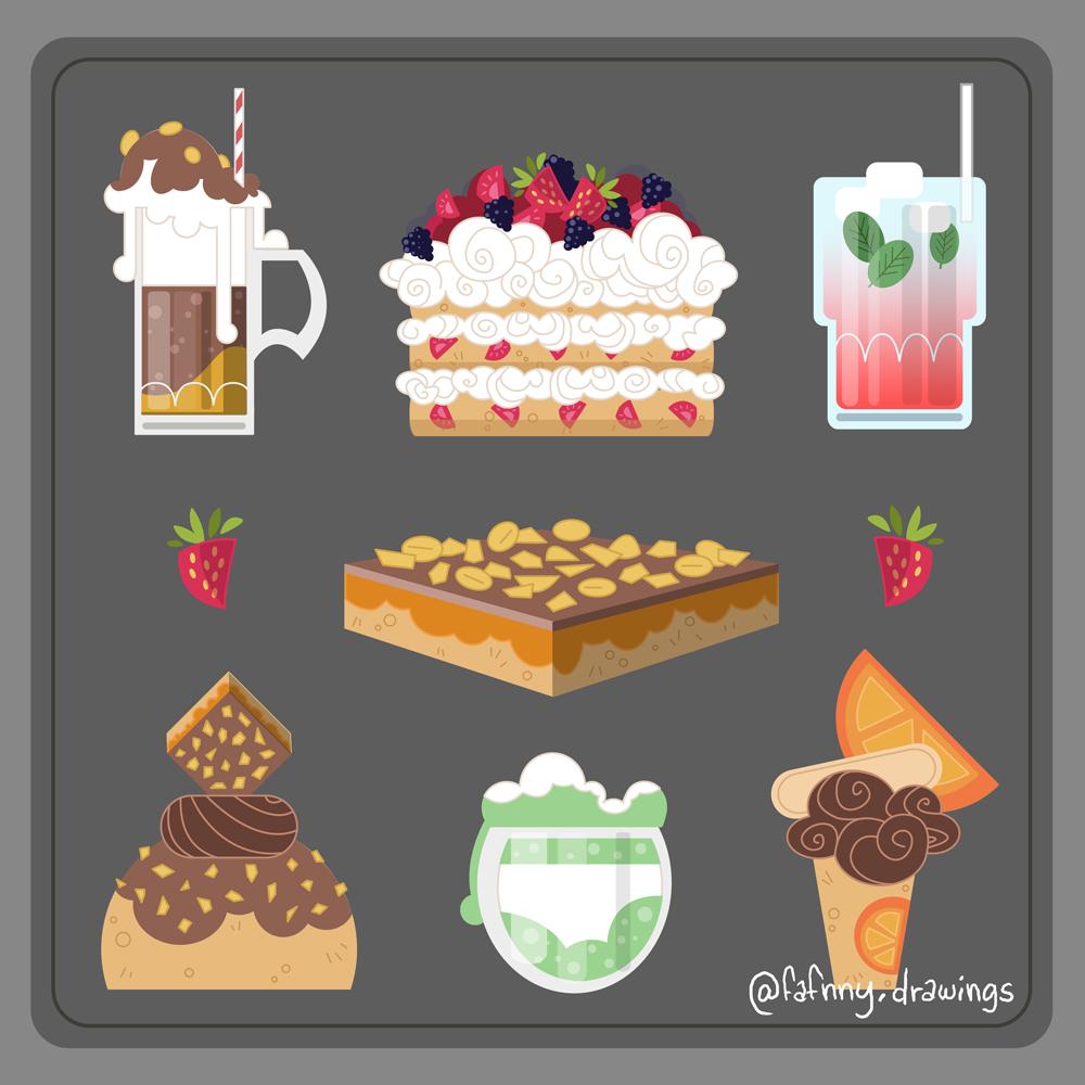 vector vector art illustrateur illustrator l'impertinente vectoriel food illustration
