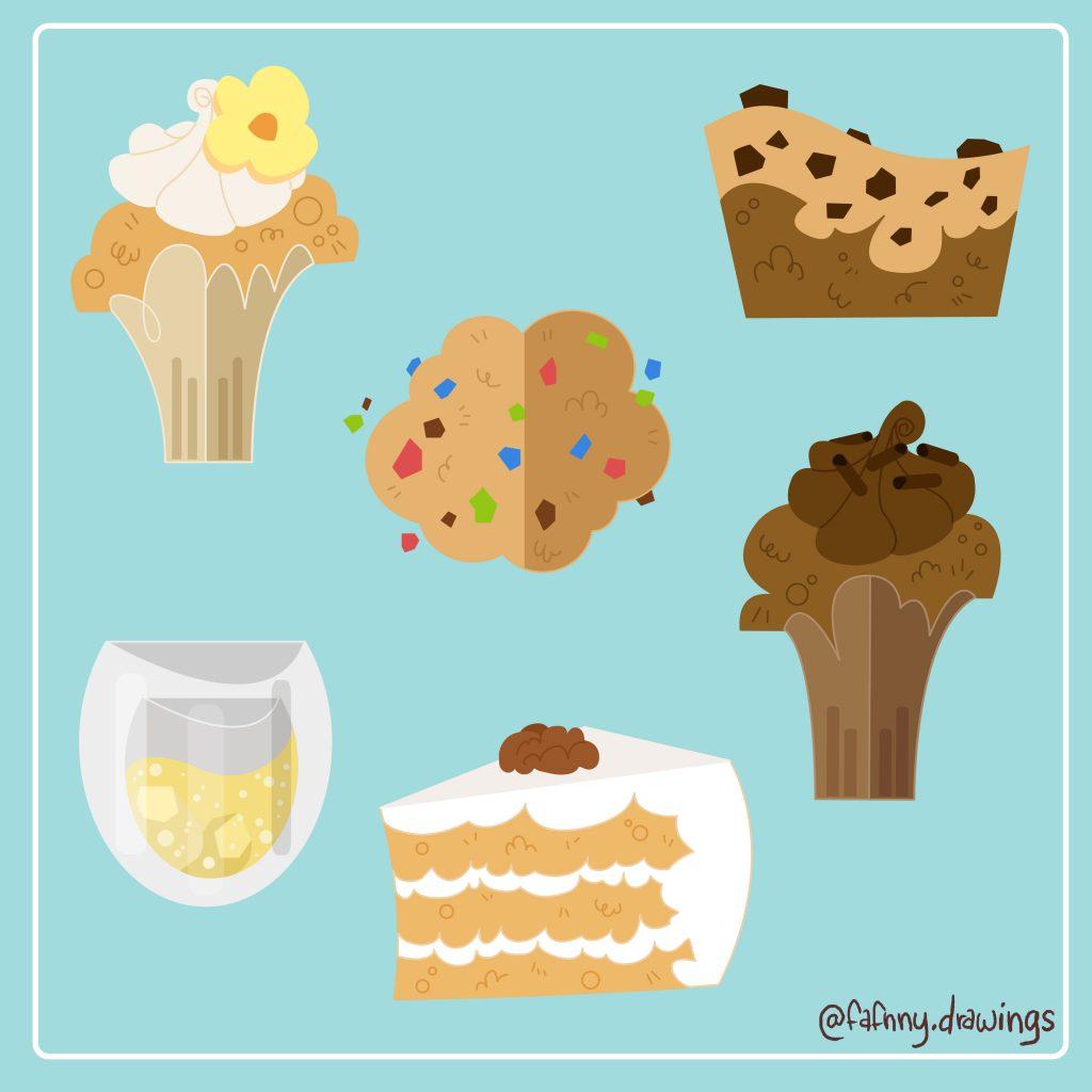 food illustration vectoriel vector art illustrateur freelance dessin