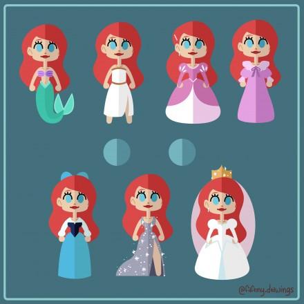 Heroïne Disney – Ariel