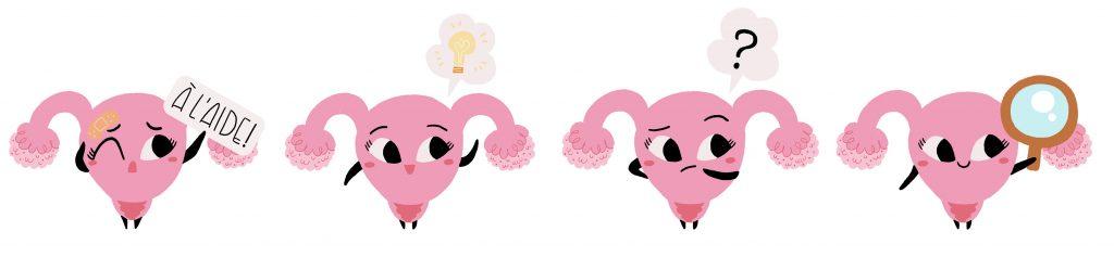 fibrome uterin femme dessinatrice illustrateur